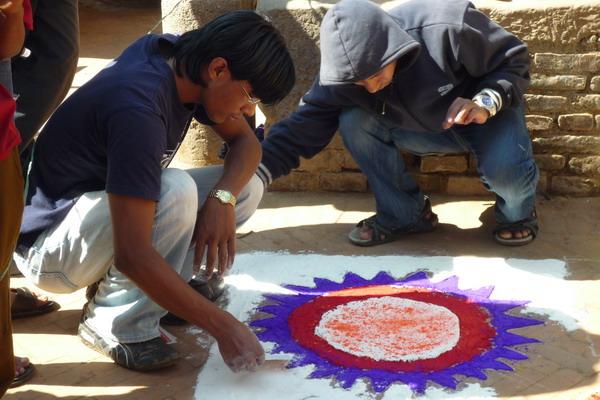 Бхактапур.Мандала