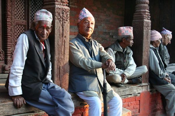 Катманду. Старцы