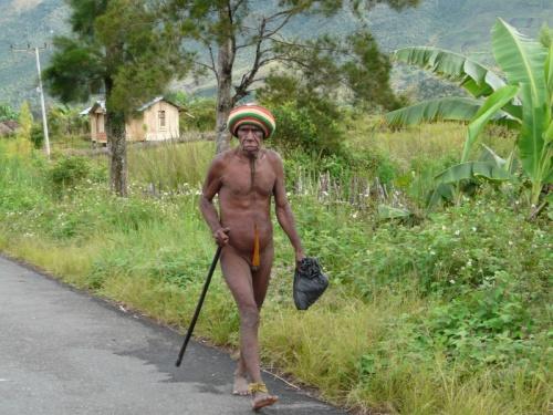 Дедушка идет в Вамену