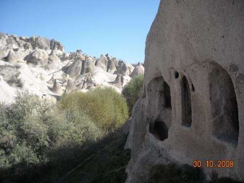 Вид из скальной церкви