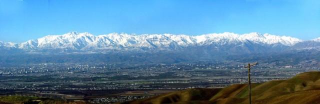 Вид Душанбе