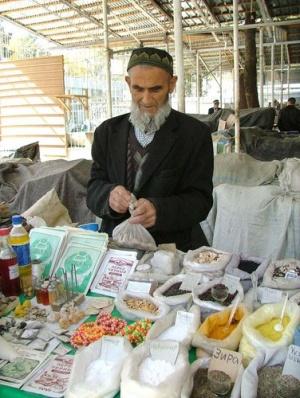 Продавец специй в Зелёном базаре