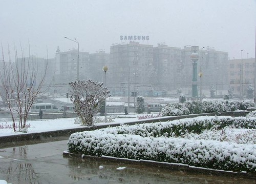 Декабрь..мокро..снег..
