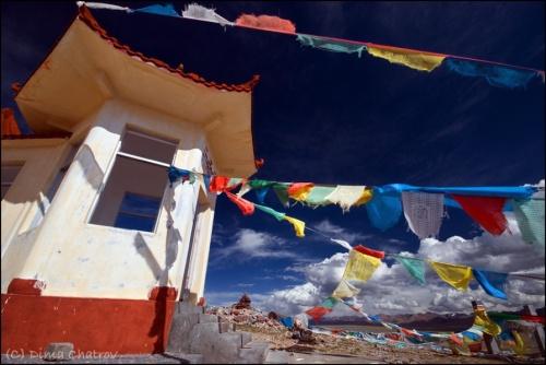 Тибет. Озеро Намцо. Высота 4800.
