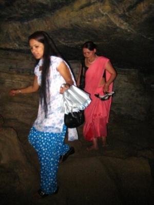 Непал, Покхара, пещеры летучих мышей