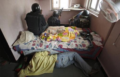 Nariman House. AP Photo/Saurabh Das