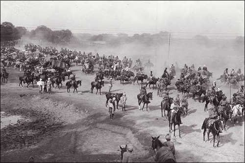 The Grand Trunk Road , built by Sher Shah Suri, was the main trade route from Calcutta to Kabul .
