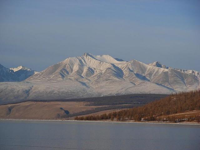 Гора Мунку-Сардык.