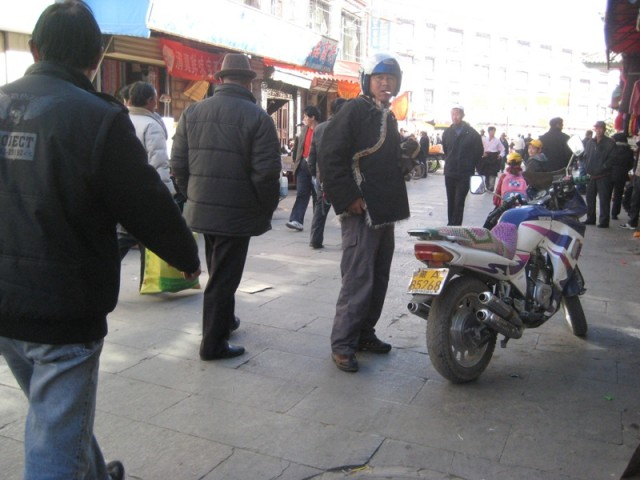 тибетский байкер