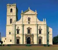 Португальский костел в Гоа