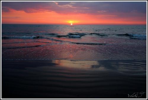спокойный океан на арамболе