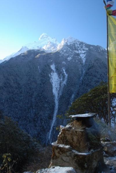 Ganesh himal на рассвете