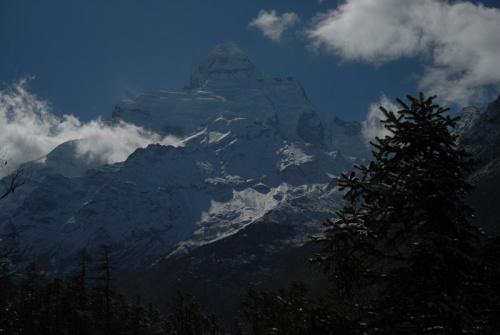 вершина Ganesh himal
