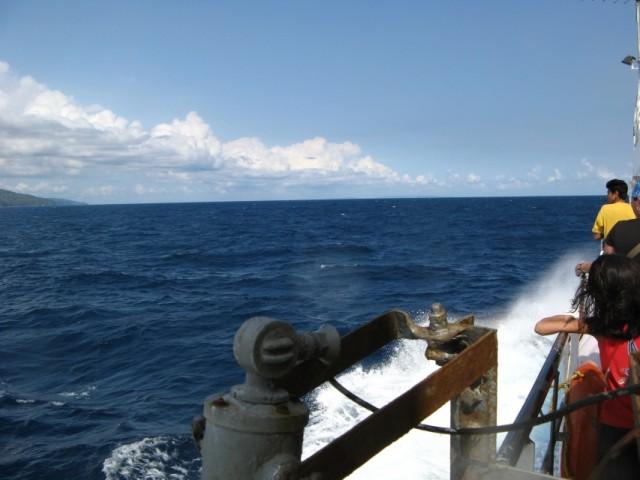 Андаманское Море, слева - South Andaman Island