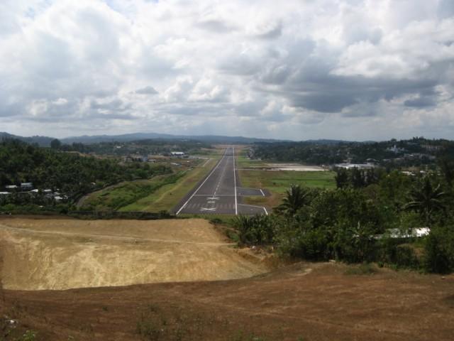 Вид с Jogging Hill на аэропорт