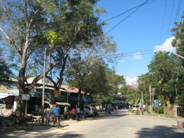 Главная деревня с рынком