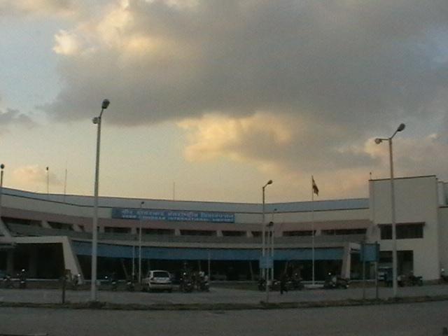 Аэропорт, который скоро станет международным