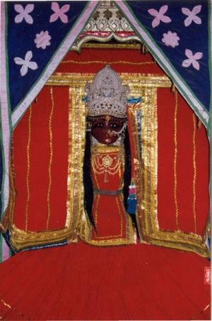 Вриндадеви - богиня Вриндавана