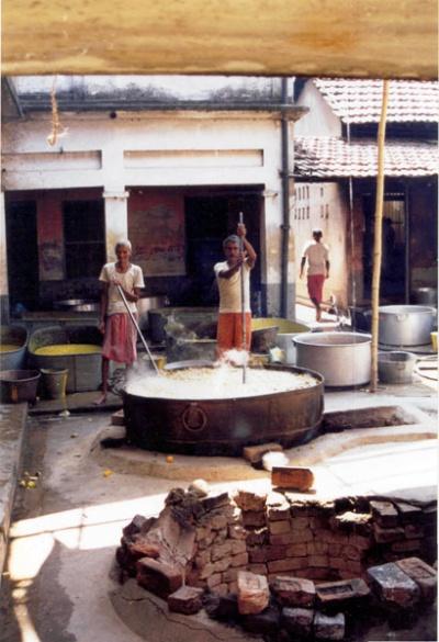 Так в Бенгалии готовят на 10.000 паломников и паловников
