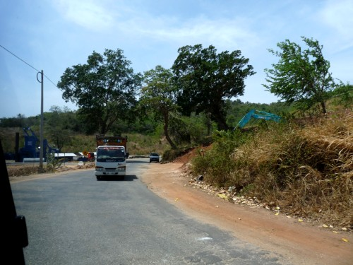 Дорога в Тринко