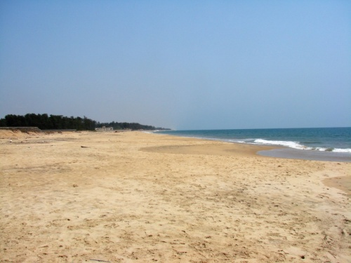 пляж в Мамаллипураме