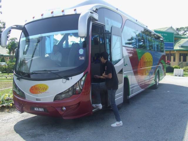 Наш автобус на Куала Лумпур