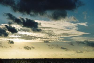 Облака были нежнее тончайшего муслина