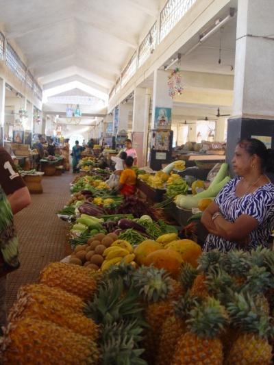 фруктовые ряды рынка в Маргао