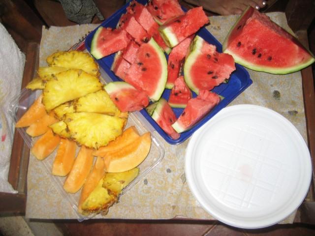 арбузы и ананасы