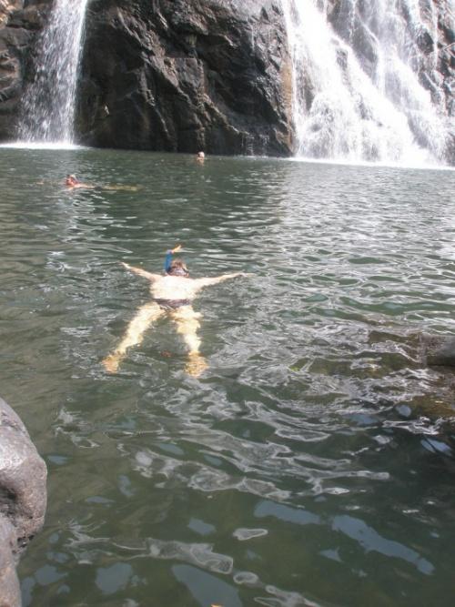 снорклинг в озере:)