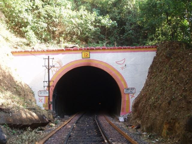 тоннель , через котрый надо проходить