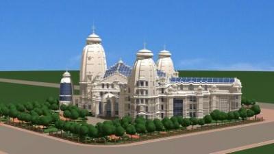 Проект Храма Кришны в Москве на Ходынке