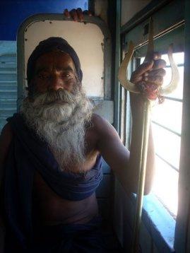 В поезде в Khajuraho