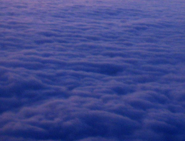 ВОЗДУХ...(облака по дороге в Турцию...вид сверху - из иллюминатора))