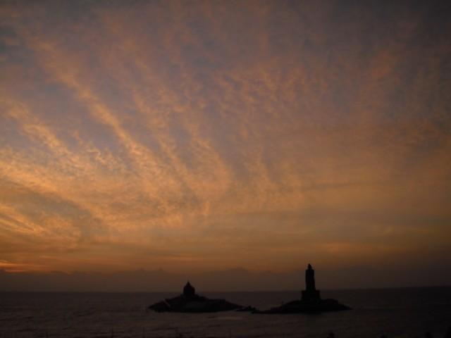 Каньякумари восход