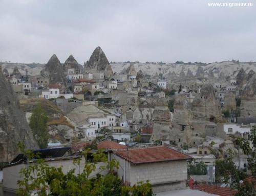 Вид на деревеньку Гореме