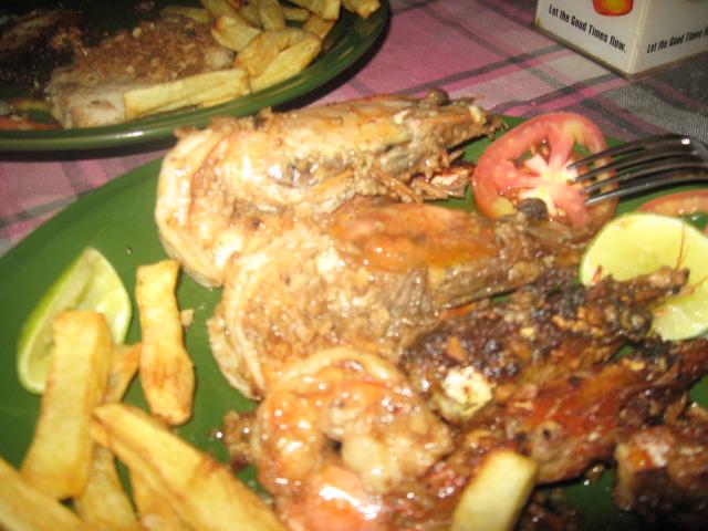 креветки-гриль