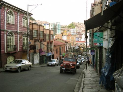 улочка в центральной части