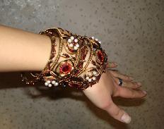 мои индийские браслетики