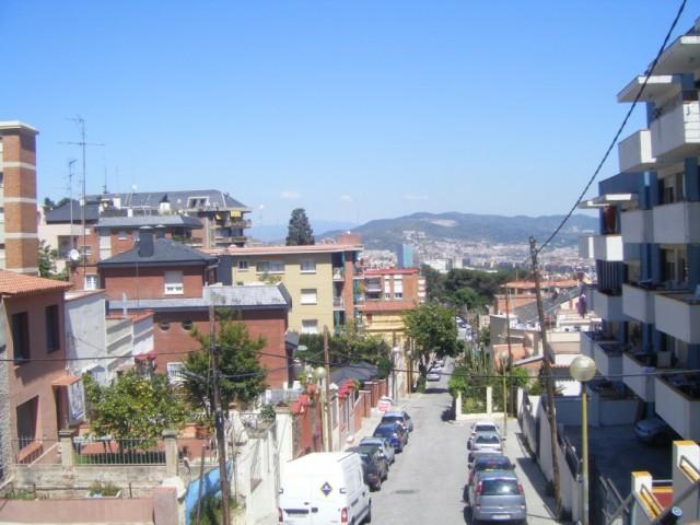Моя улица. Вид на горы.