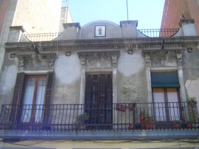 Дома Барселоны. Балкончики.