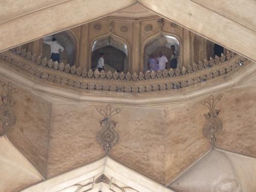 Внутри внутри Чарминара