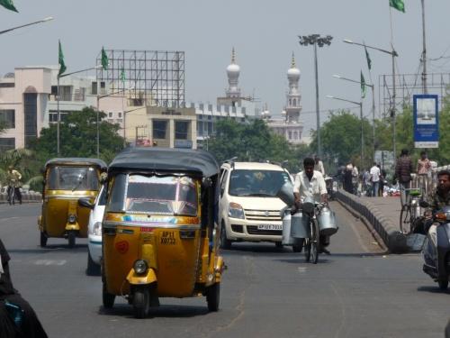 Улицы Хайдерабада