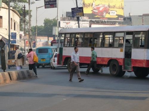 С автобуса на ходу!