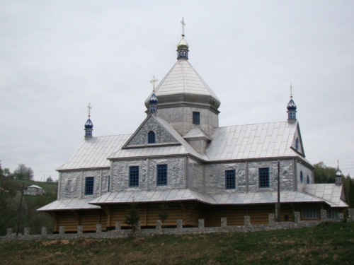 Деревянная церковь на Франкофщине