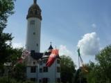 башня-маяк в замке-музее