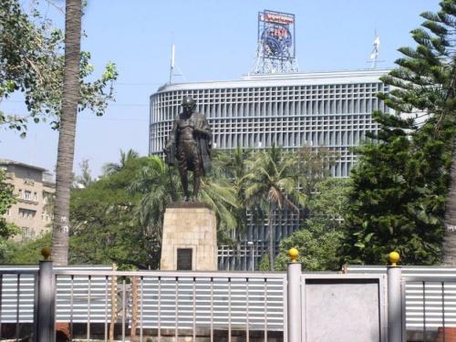 Памятник в Мумбае