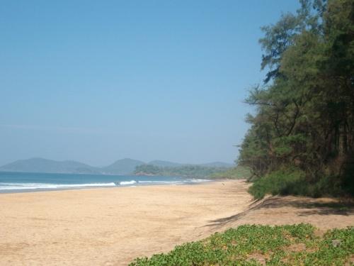 ну оооочень тихий пляж