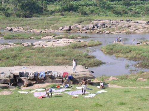 священная река Тунгабхадра
