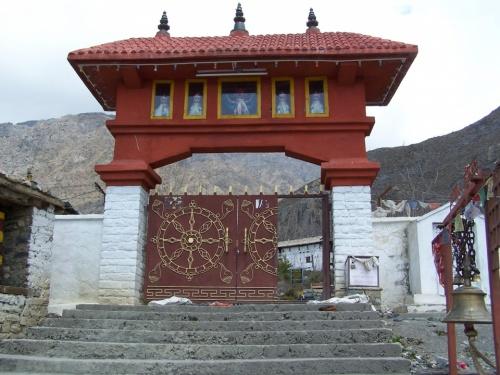 Врата в Муктинатх